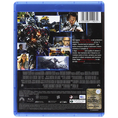 Transformers 4 - L'Era dell'Estinzione Blu-ray