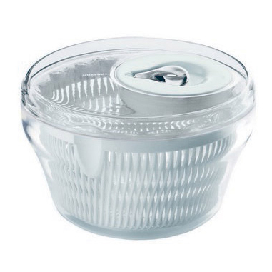 Fratelli Guzzini LATINA Trasparente Manovella/manico centrifuga da insalata