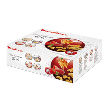 Moulinex Torchio per pasta con 6 trafile + ricettario