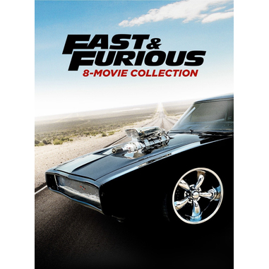 Fast & Furious 8-Movie Collection, DVD 2D ITA