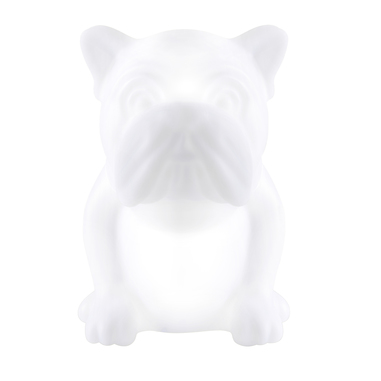 Bigben Interactive Speaker luminoso Buldogs 15 W Bianco