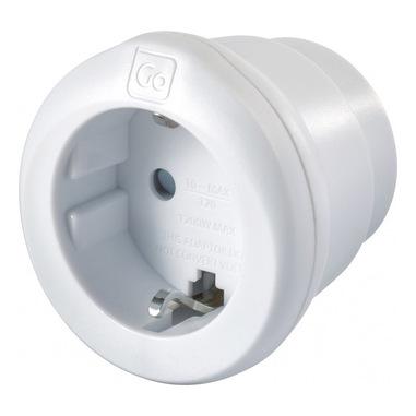 Go Travel EU - USA Adaptor adattatore per presa di corrente Tipo C (Europlug) Tipo B
