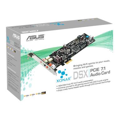 ASUS XONAR-DSX scheda audio