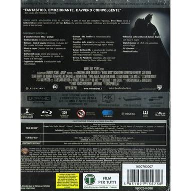 Batman Begins (4K Ultra HD + Blu-Ray)