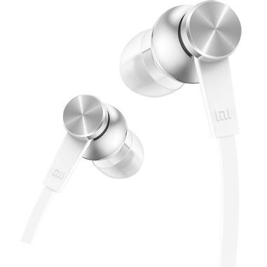 Xiaomi Mi In-Ear Headphones Basic Cuffia Auricolare Connettore 3.5 mm Argento, Bianco