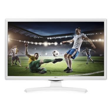 "LG 24TK410VW monitor piatto per PC 61 cm (24"") 1366 x 768 Pixel WXGA Opaco Bianco"