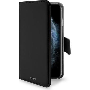 """PURO IPCX19BOOKC3BLK custodia per iPhone 1114,7 cm (5.8"""") Custodia a borsellino Nero"""