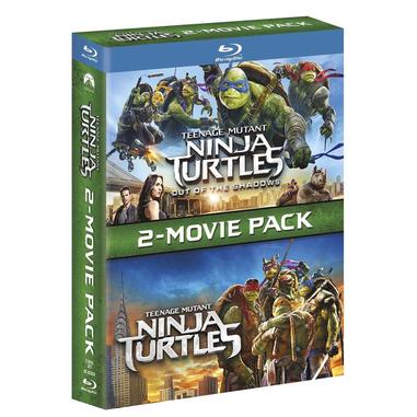 Tartarughe Ninja + Tartarughe Ninja 2: Fuori dall'Ombra Blu ray