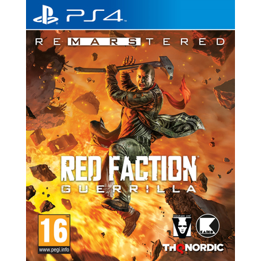 Red Faction Guerrilla Re-Mars-tered, PS4 videogioco PlayStation 4 Remastered Tedesca, Inglese, ESP, Francese, ITA, Russo