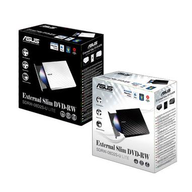 ASUS SDRW-08D2S-U Lite DVD±R/RW Bianco lettore di disco ottico