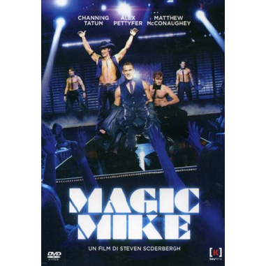 Magic Mike, film (DVD)