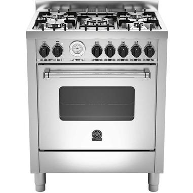 Bertazzoni La Germania Americana AMN705MFESXT Piano cottura Gas A Acciaio inossidabile cucina