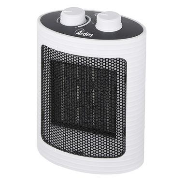 Ardes 4P07W stufetta elettrica Interno Nero, Bianco 1500 W Riscaldatore ambiente elettrico con ventilatore