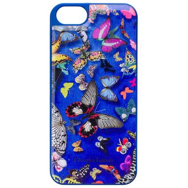 Christian Lacroix Butterfly Parade custodia per cellulare Cover Blu, Multicolore