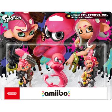 Nintendo amiibo Octoling Boy, Octopus, Girl