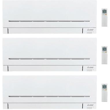 Mitsubishi Electric MITKIT3-54AP25X3WF condizionatore fisso Climatizzatore split system Bianco
