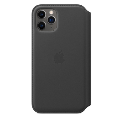 "Apple MX062ZM/A custodia per iPhone 11 Pro14,7 cm (5.8"") Custodia a libro Nero"