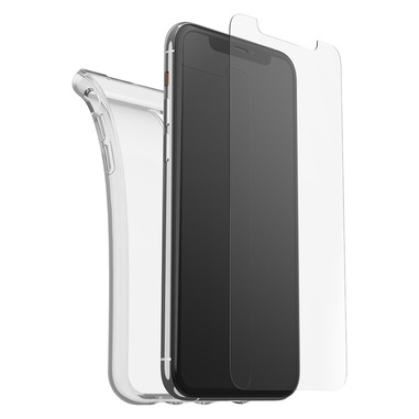 OtterBox Clearly Protected Skin + Alpha Glass per iPhone 11 Pro