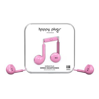 Happy Plugs Earbud Plus Auricolare Rosa