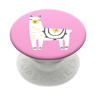 PopSockets Llama Glama Lettore e-book, Telefono cellulare/smartphone, Tablet/UMPC Multicolore Supporto passivo