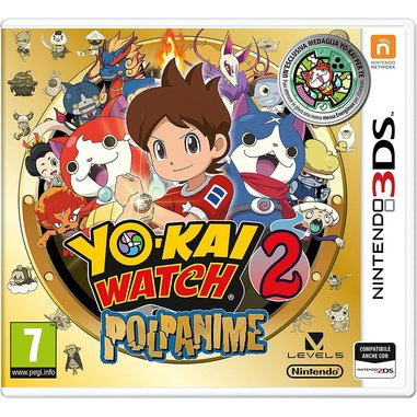 Yo-Kai Watch 2: Polpanime + medaglia (edizione speciale) - Nintendo 3DS