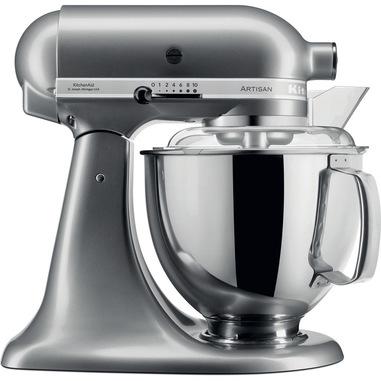 KitchenAid 5KSM175PSECU robot da cucina 300 W 4,8 L Nero, Onice