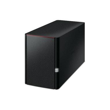 Buffalo LinkStation 220 Armada 370 Collegamento ethernet LAN Nero NAS