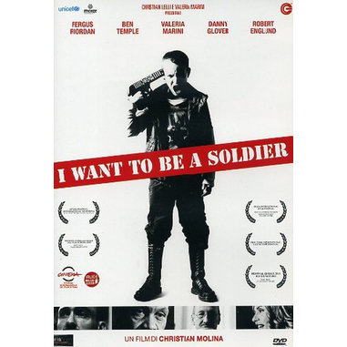 I Want To Be A Soldier, film (DVD)