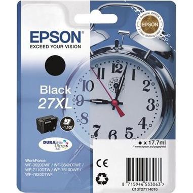 Epson Alarm clock 27XL DURABrite Ultra Originale Nero 1 pezzo(i)
