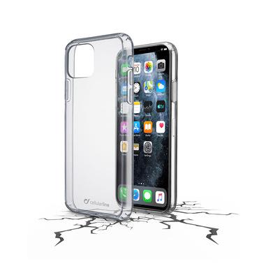 Cellularline Clear Duo - iPhone 11 Pro Max Accoppiata ad alta protezione Trasparente