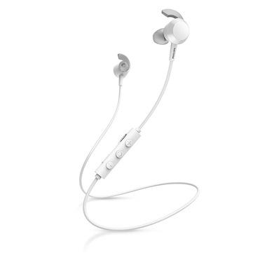 Philips TAE4205WT/00 cuffia e auricolare Bluetooth Bianco