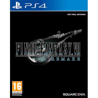 Final Fantasy VII Remake, PS4