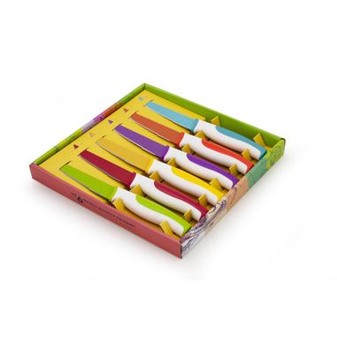 WD Lifestyle Set 6 coltelli bistecca manicatura colorata