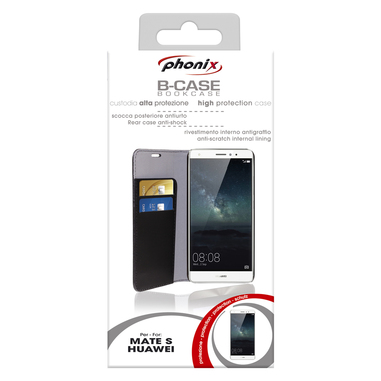 Phonix Custodia gel per Huawey Mate S nera