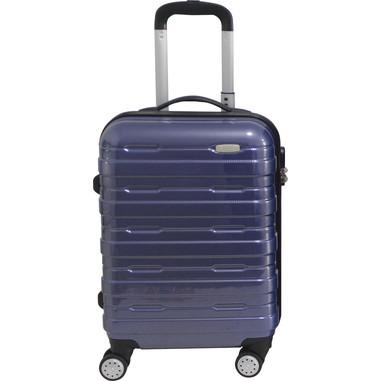 Trolley da cabina, blu