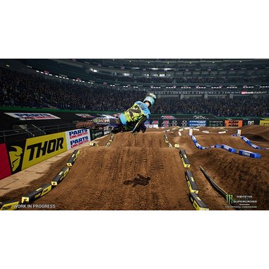 The Official Monster Energy Supercross - PS4
