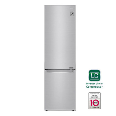 LG GBB72NSEXN Frigorifero Combinato Classe energetica A+++ -10% Maniglie integrate Display interno LED