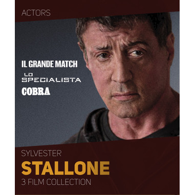 Sylvester Stallone: 3 film collection (Blu-ray)