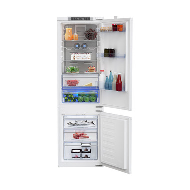 Beko BCNA275E4SN frigorifero con congelatore Da incasso 254 L E Bianco