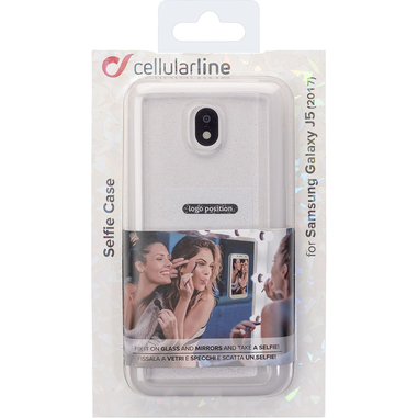 Cellularline Custodia per selfie per Galaxy J5 (2017)