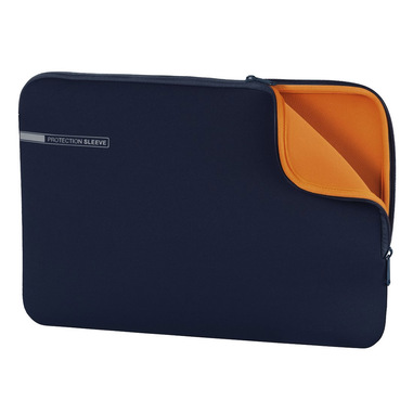 "Hama Neoprene borsa per notebook 39,6 cm (15.6"") Custodia a tasca Blu, Arancione"
