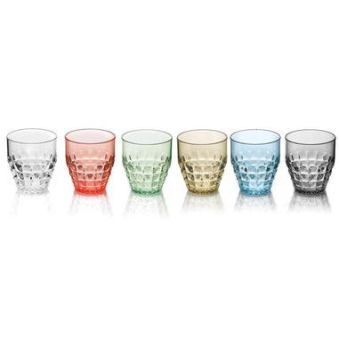 Fratelli Guzzini 9925084 Confezione da 6 Bicchieri Bianco