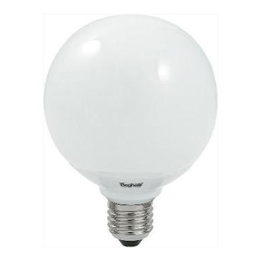 Beghelli lampada LED sfera 2,5 W E14
