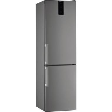 Whirlpool W7 921O OX frigorifero con congelatore Libera installazione 368 L E Acciaio inossidabile