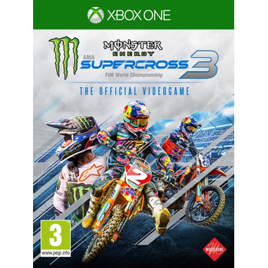 Monster Energy Supercross 3 - The Official Videogame 3, Xbox One