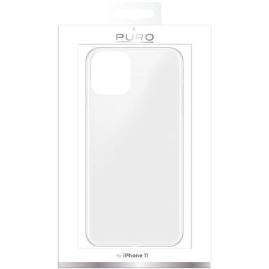 """PURO IPCX611903NUDETR custodia per iPhone 11 15,5 cm (6.1"""") Cover Trasparente"""