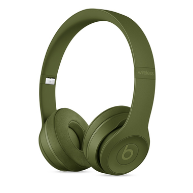 Beats Solo3 Padiglione auricolare Stereofonico Con cavo e senza cavo Verde auricolare per telefono cellulare