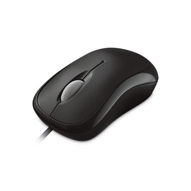 Microsoft Basic Optical mouse USB tipo A Ottico 800 DPI Ambidestro