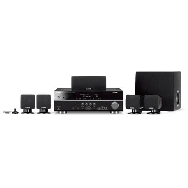 Yamaha YHT-294 sistema home cinema Compatibilità 3D 5.1 canali 600, 500 Nero