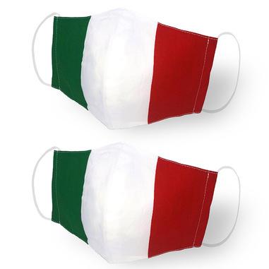 Kanguru Green Mask Set 2 pezzi Italia per adulti